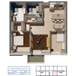 "Layout ""E"" Dollhouse"